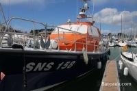 SNS 158 en attente sur La Trinité sur Mer