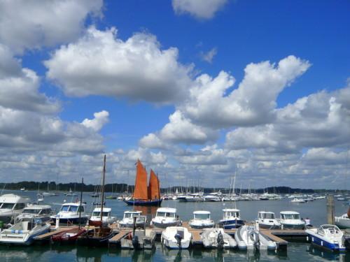 Port l 39 le aux moines 56 informations maritimes sur le port de plaisance - Office de tourisme ile aux moines ...
