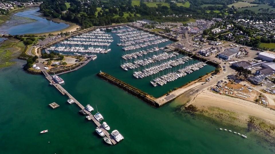 Port port la foret 29 informations maritimes sur le port de plaisance - Port de plaisance le crouesty ...