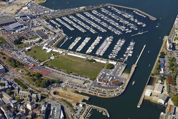Cherbourg-Octeville - Port de Chantereyne - port de plaisance