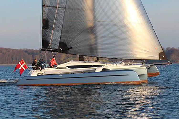Dragonfly 32 Evolution - voilier du chantier Quorning Boats