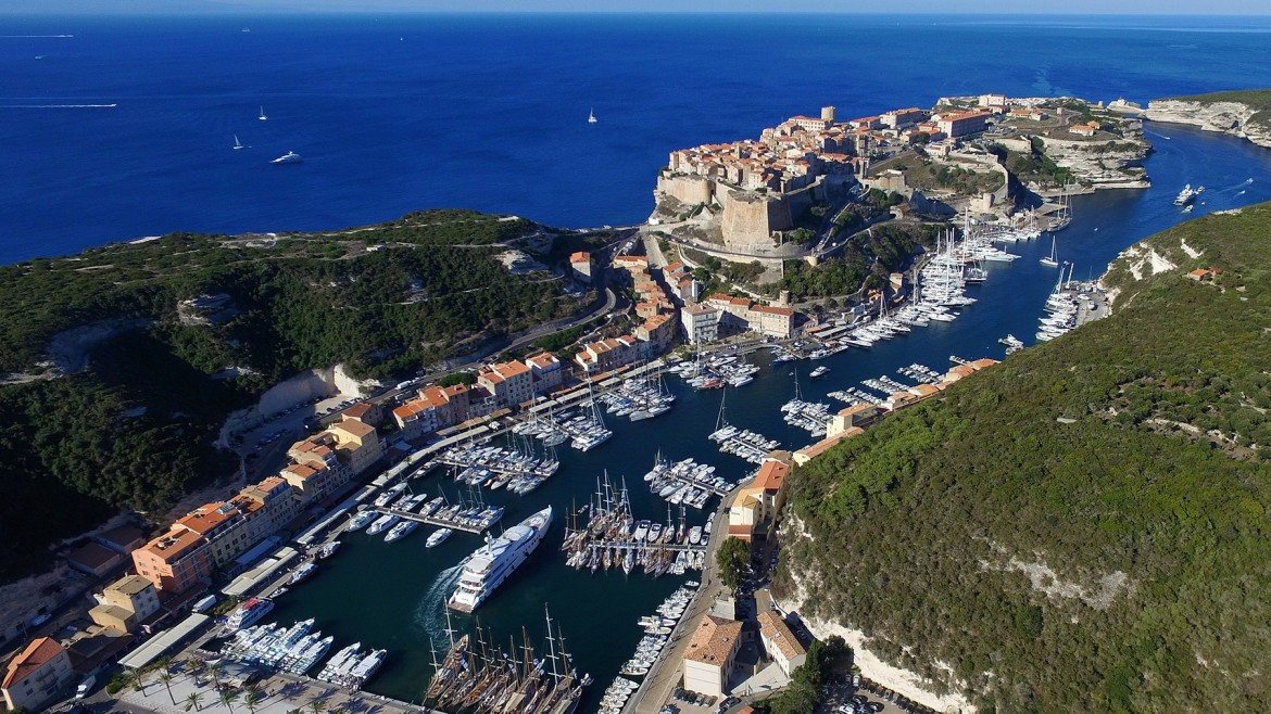 Bonifacio - port de plaisance
