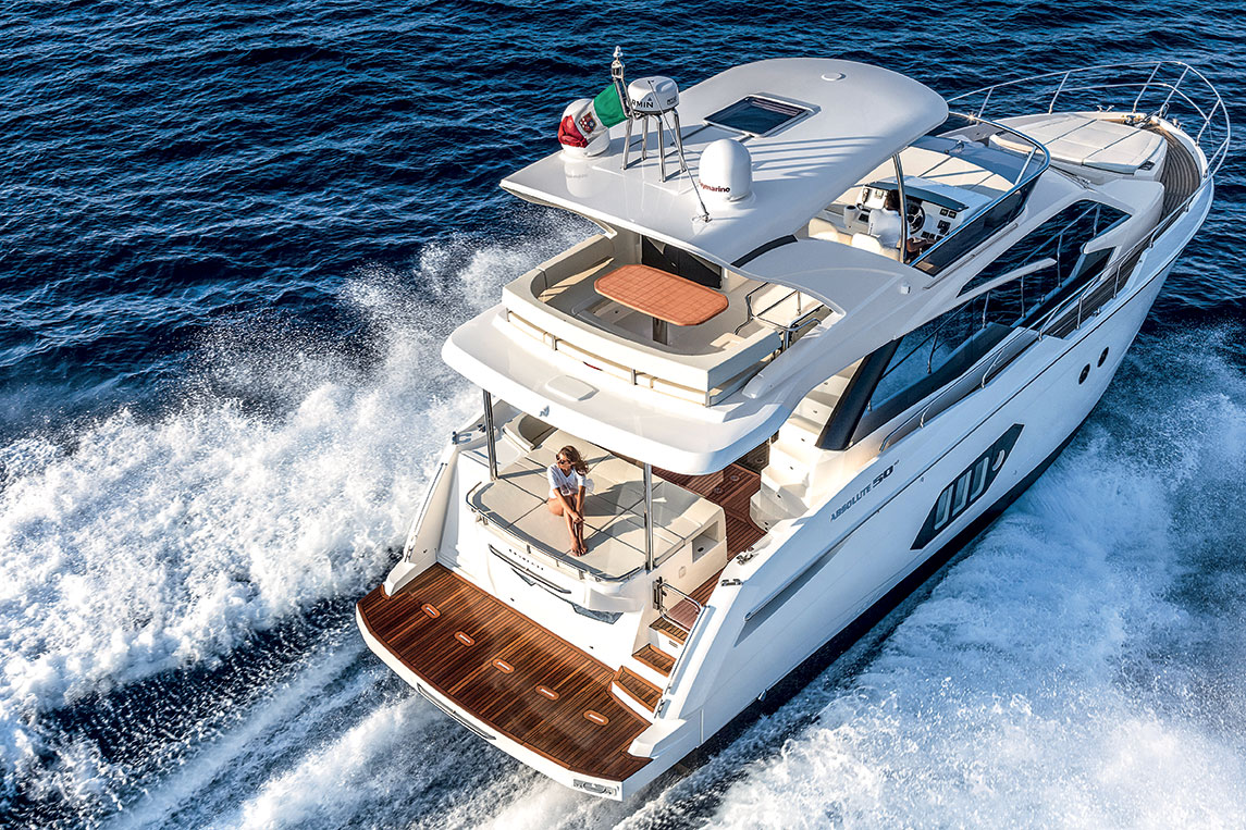 bateau Absolute Yachts Absolute 50 Fly