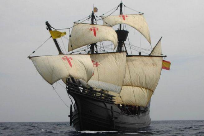 La Victoria, premier navire à effectuer le tour du monde