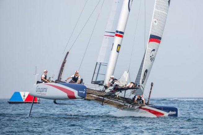 Groupama Team France à Oman