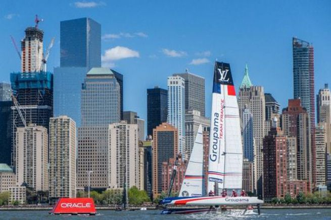 Groupama Team France à New York