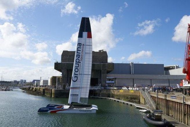 Le Class AC Test de Groupama Team France