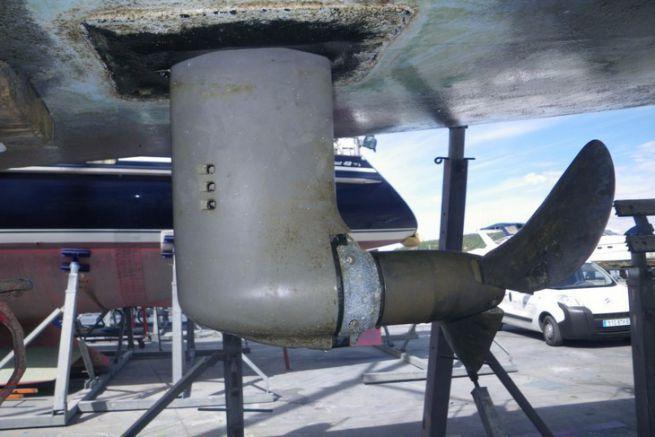 Propulsion saildrive