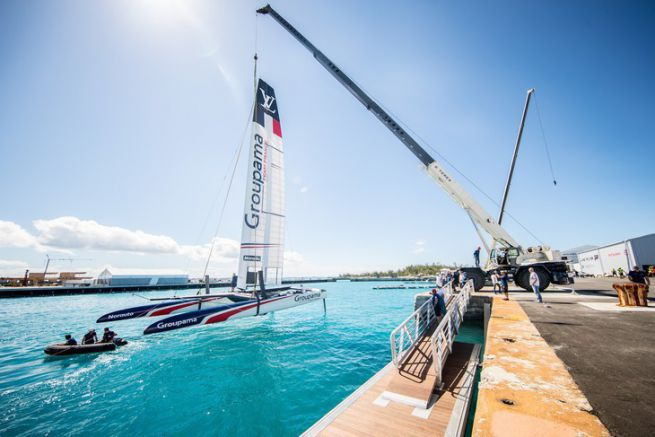 Le Class AC de Groupama Team France