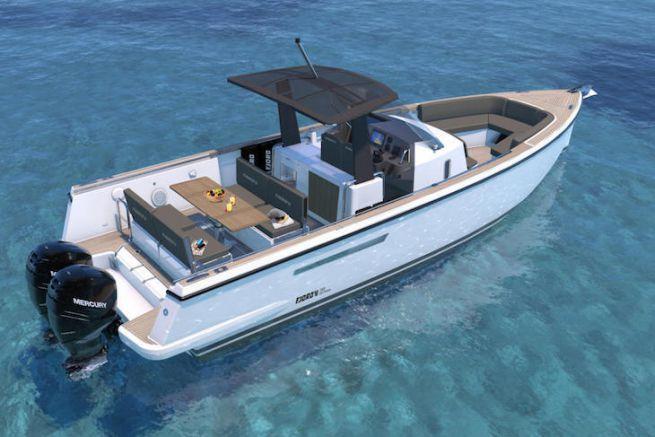 Le premier modèle hors-bord du chantier Fjord, le 36 Xpress