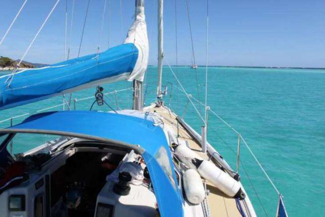 Passmoilcric aux Tobago Cays
