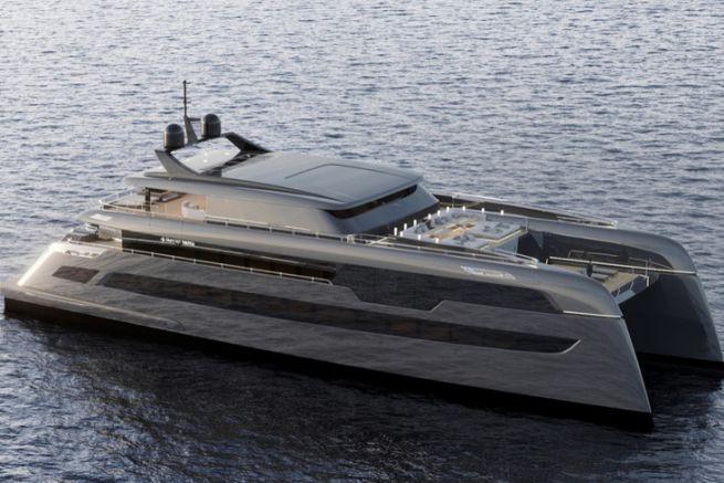 Le catamaran custom de 49 m construit par Sunreef Yachts